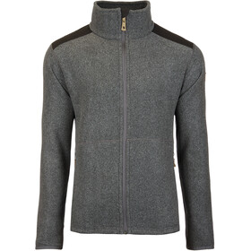 Fjällräven Sten Fleece Jas Heren, dark grey